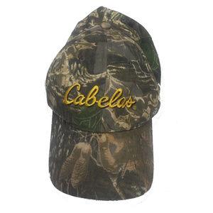💥5/$25 CABELA'S camoflauge baseball hat